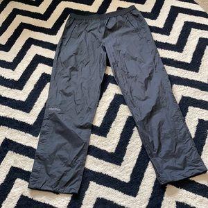 Marmot black precipitation windbreaker pants